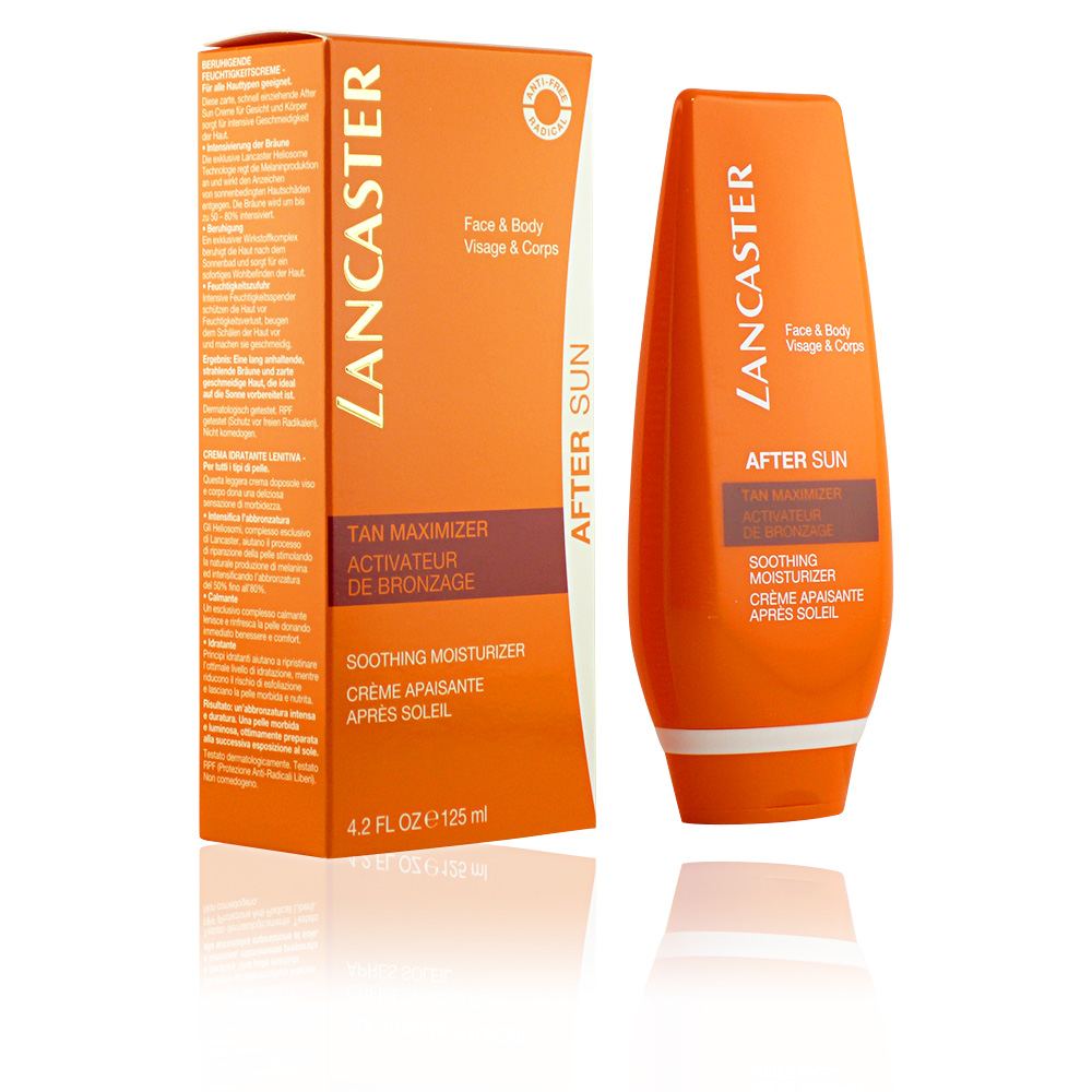 AFTER SUN tan maximizer soothing moisturizer