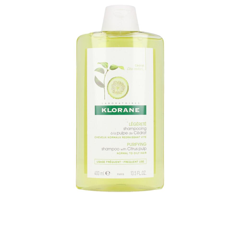 PURIFYING shampoo with citrus pulp
