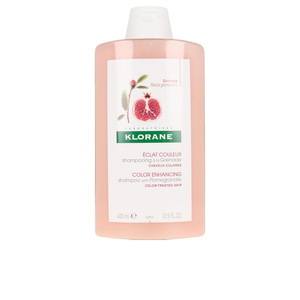 COLOR ENHANCING anti-fade shampoo with pomegranate