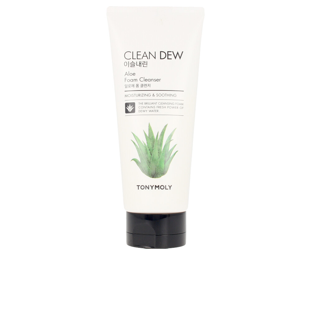 CLEAN DEW aloe foam cleanser