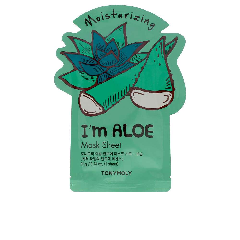 I´M REAL ALOE face mask sheet