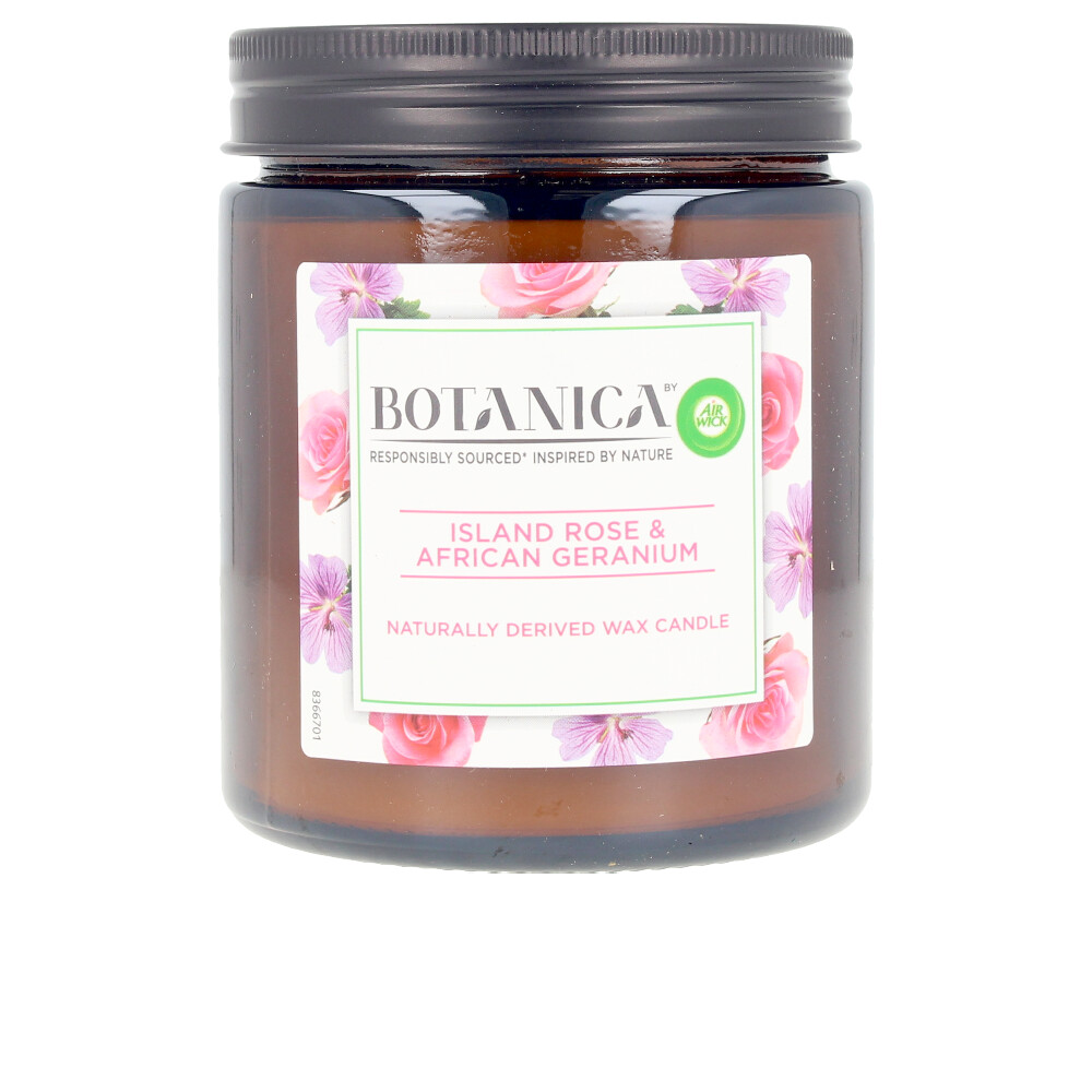 BOTANICA VELA rose & african geranium