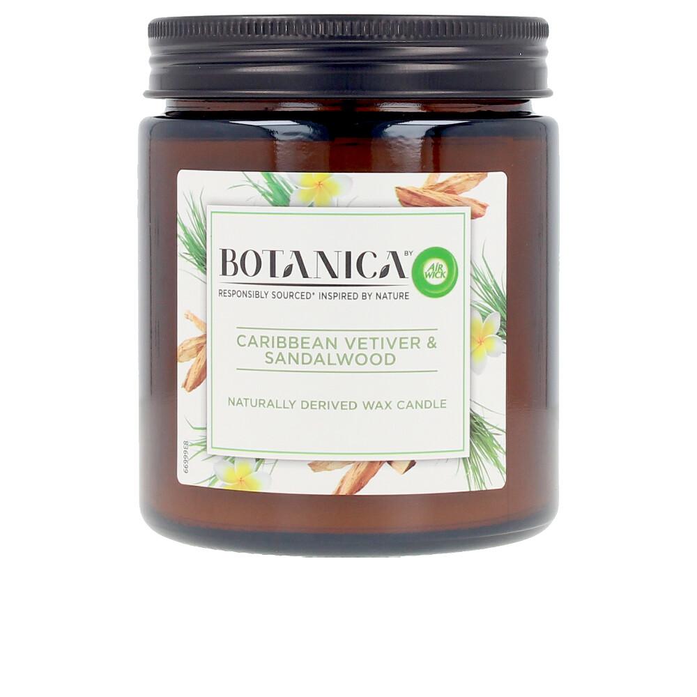 BOTANICA VELA caribbean vetiver & sandalwood