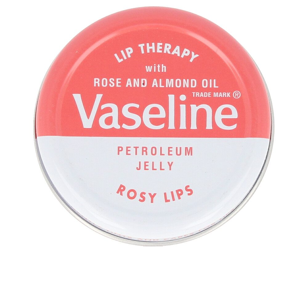 LIP THERAPY lip balm with rose and almond oil rosy lips
