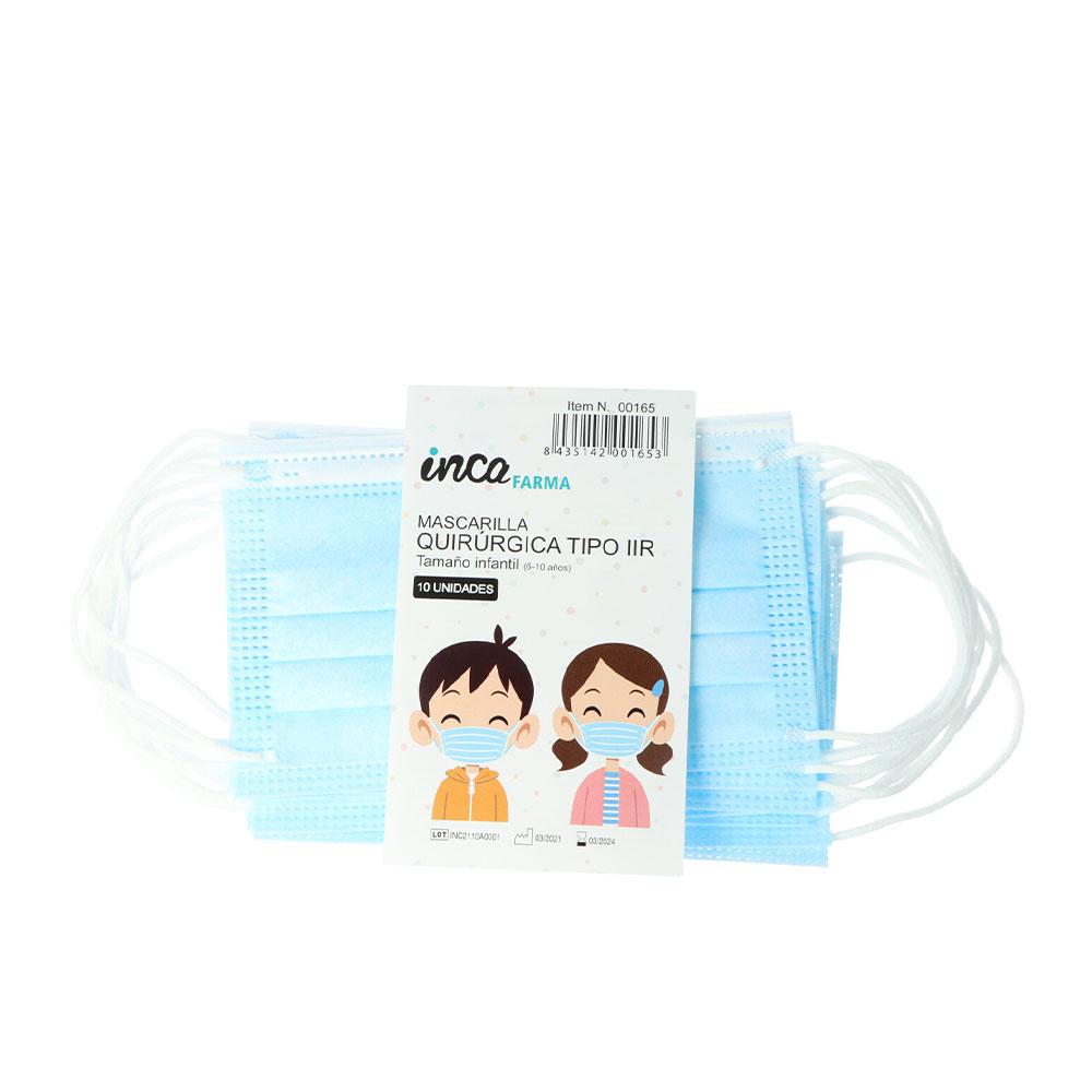 FARMA mascarilla quirúrgica IIR infantil made in Spain #azul