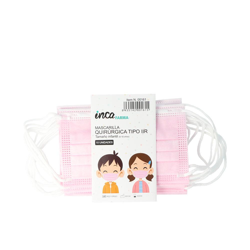FARMA mascarilla quirúrgica IIR infantil made in Spain #rosa