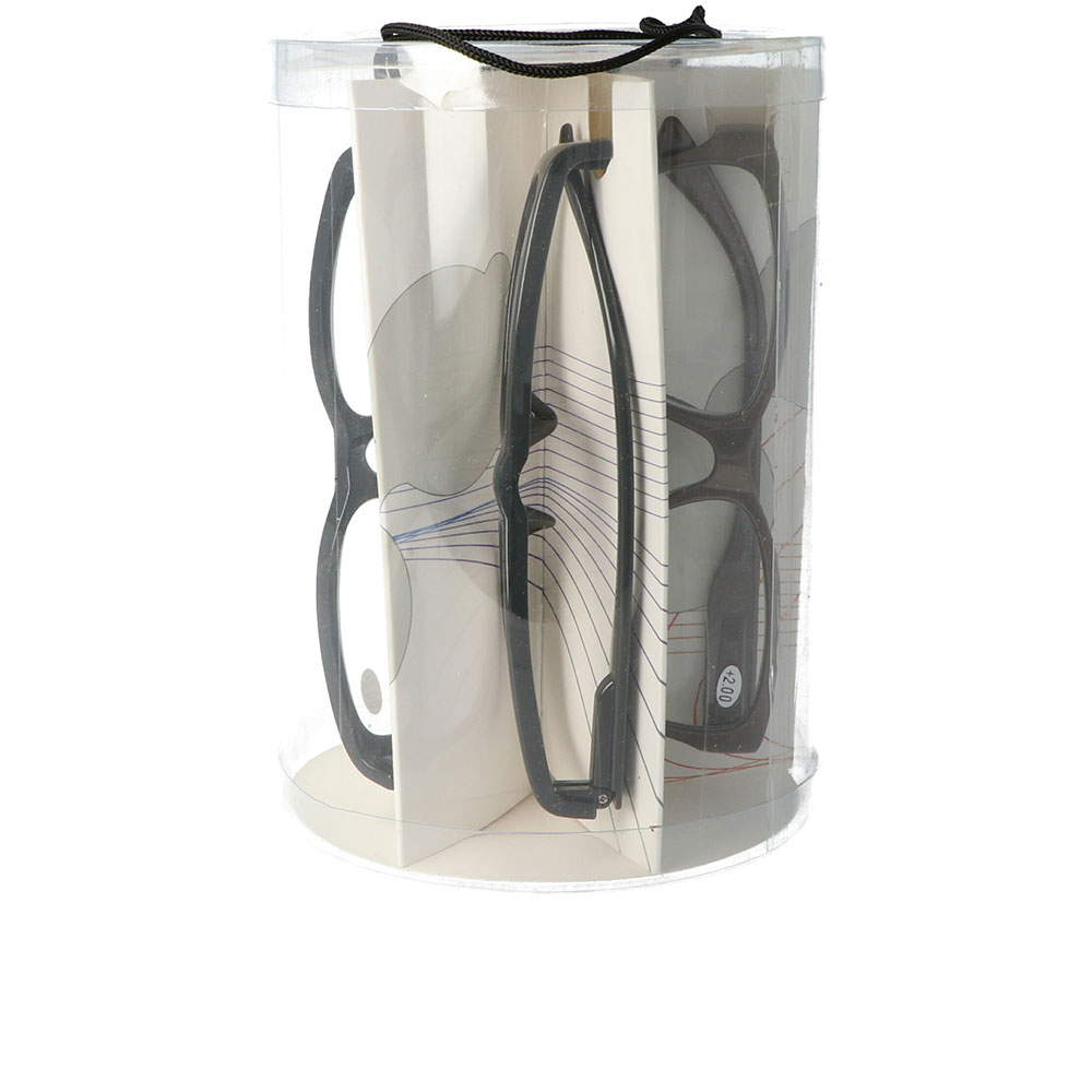 GAFAS LECTURA pack 5 hombre - 2,0