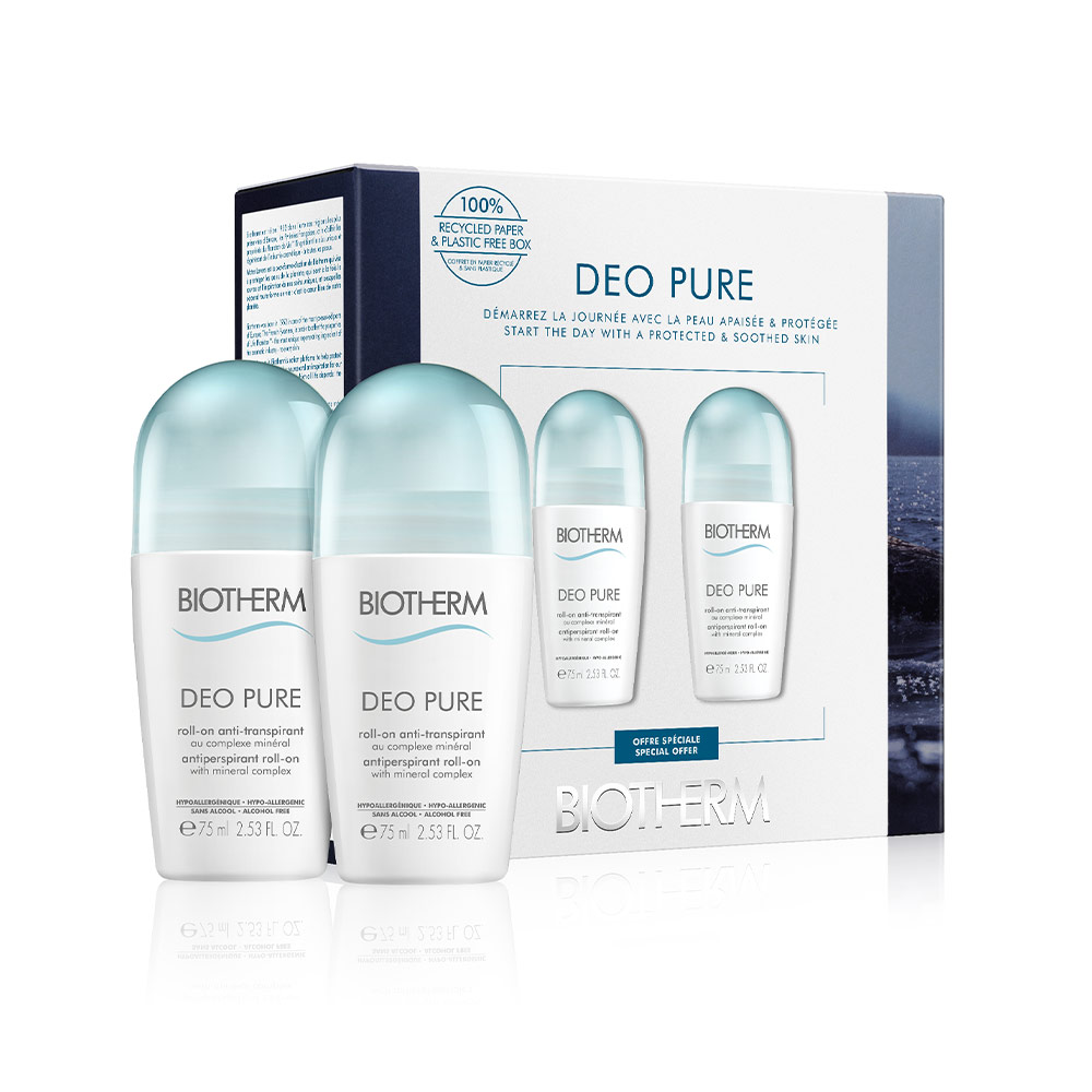 DEO PURE INVISIBLE ROLL-ON SET
