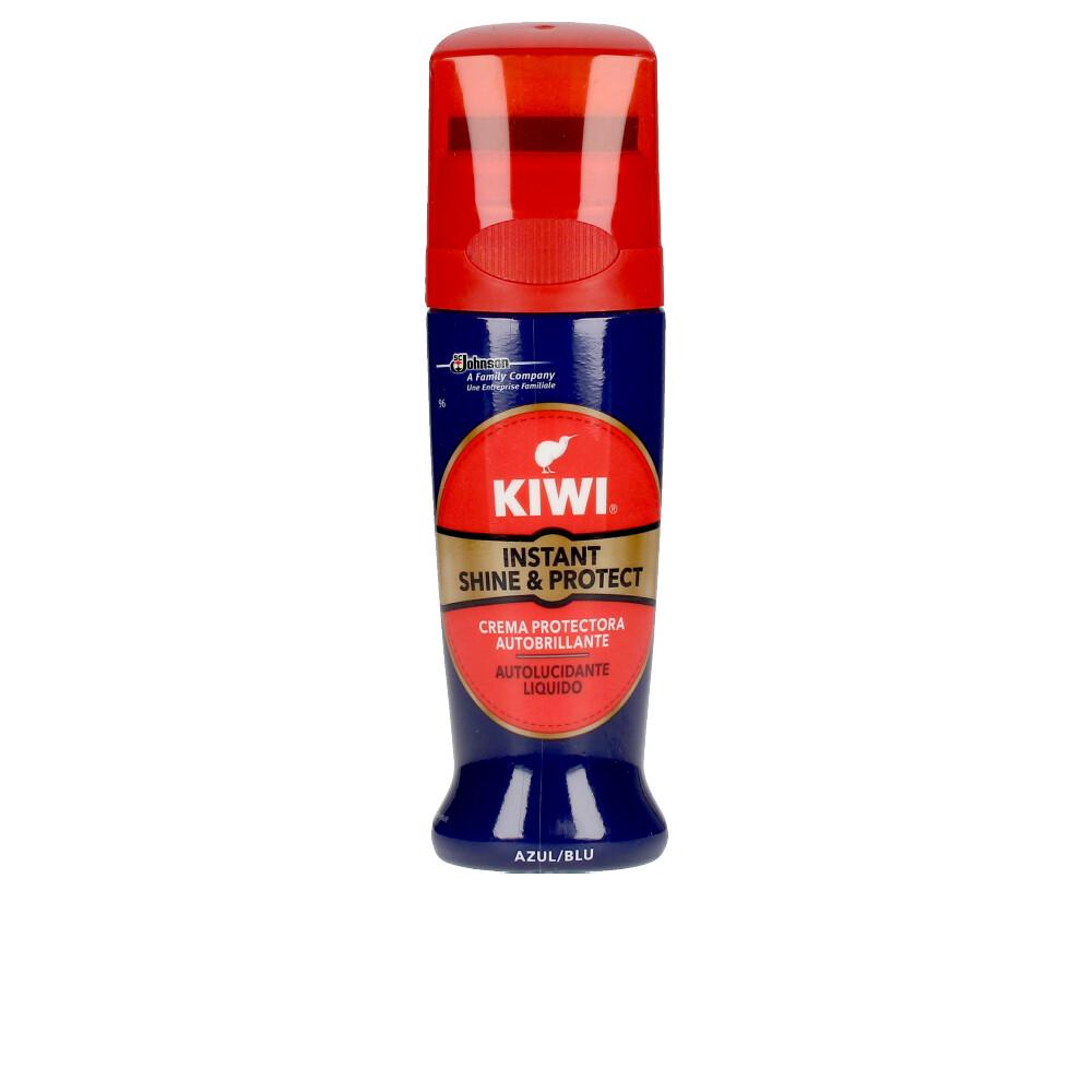 KIWI SHINE & PROTECT crema limpia zapatos #azul