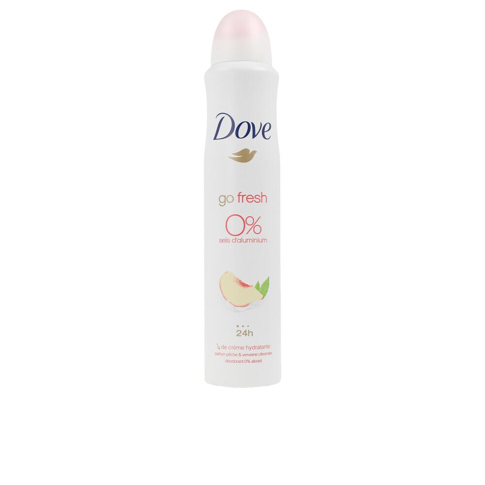 GO FRESH peach & lemon 0% deo spray