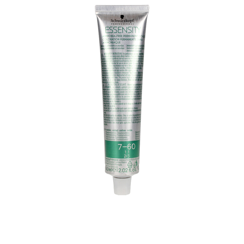 Essensity ammonia-free permanent color #7-60 60 ml