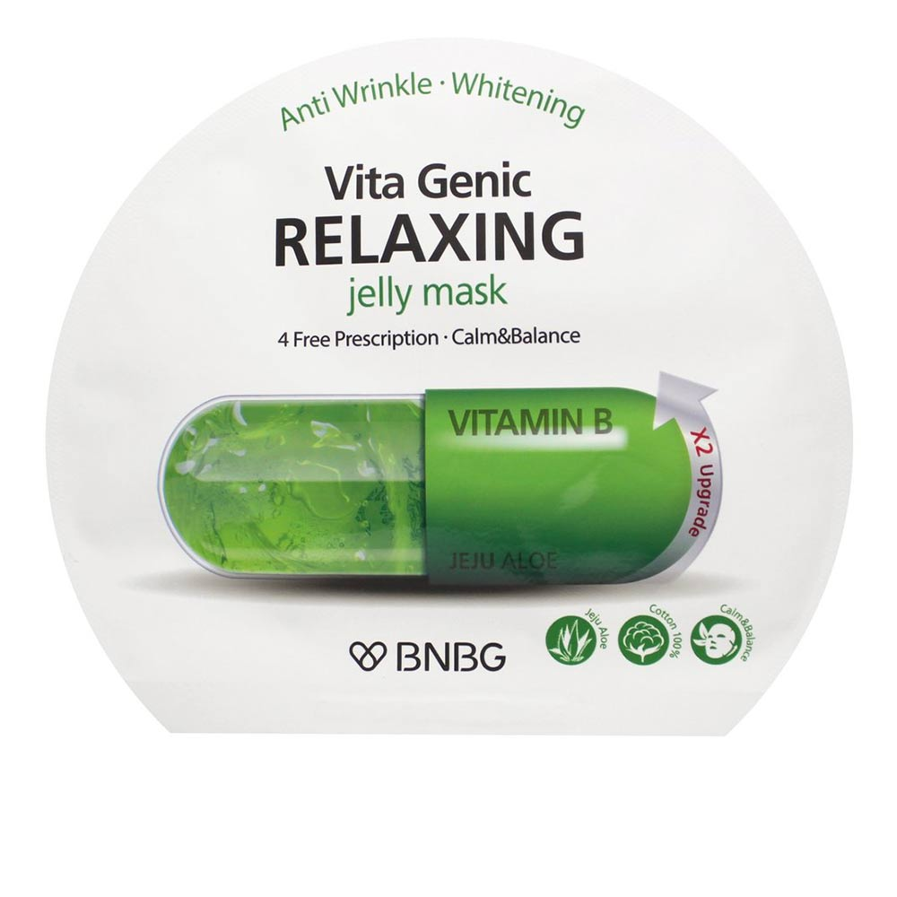 VITA GENIC relaxing anti wrinkle jelly mask