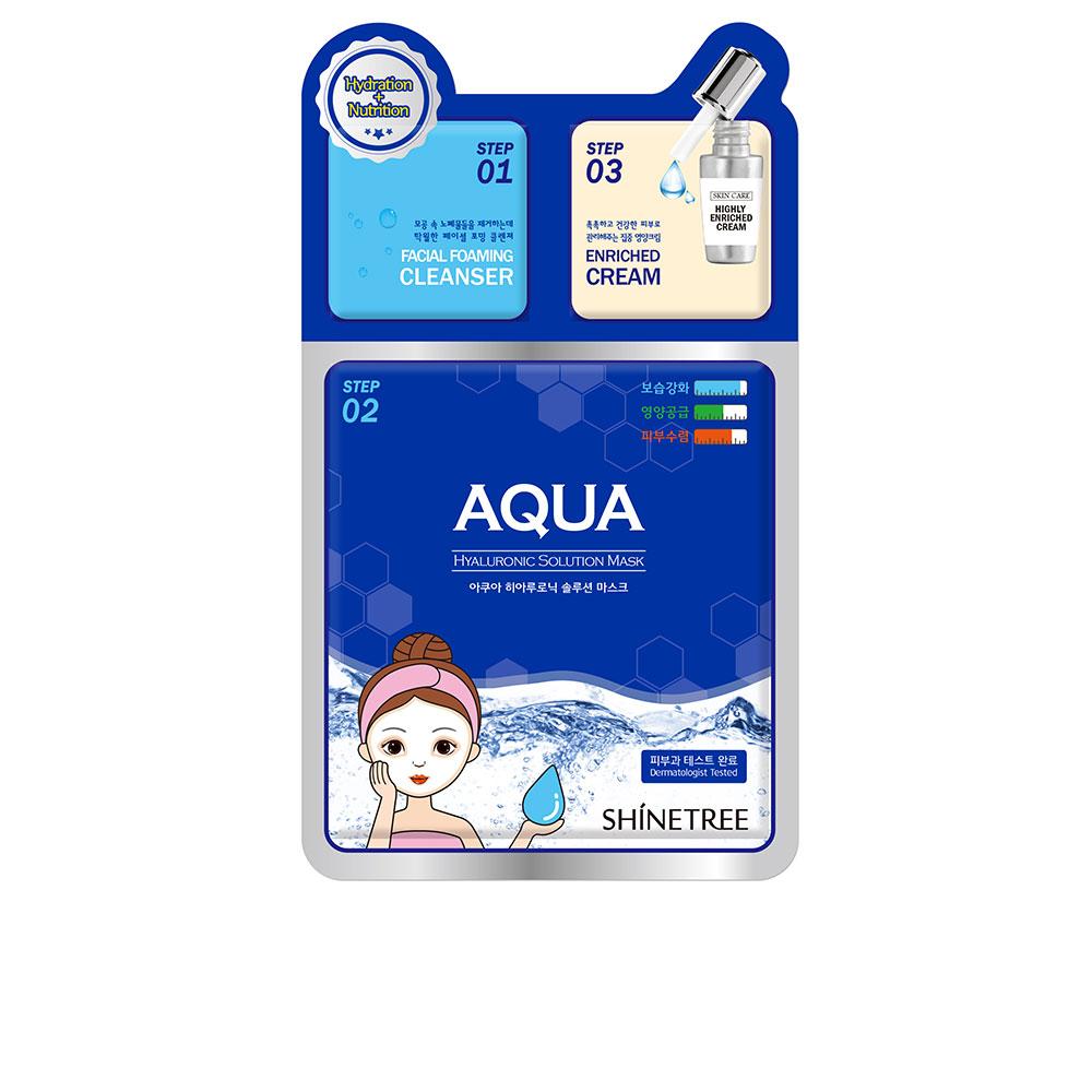 AQUA hyaluronic solution mask 3 steps