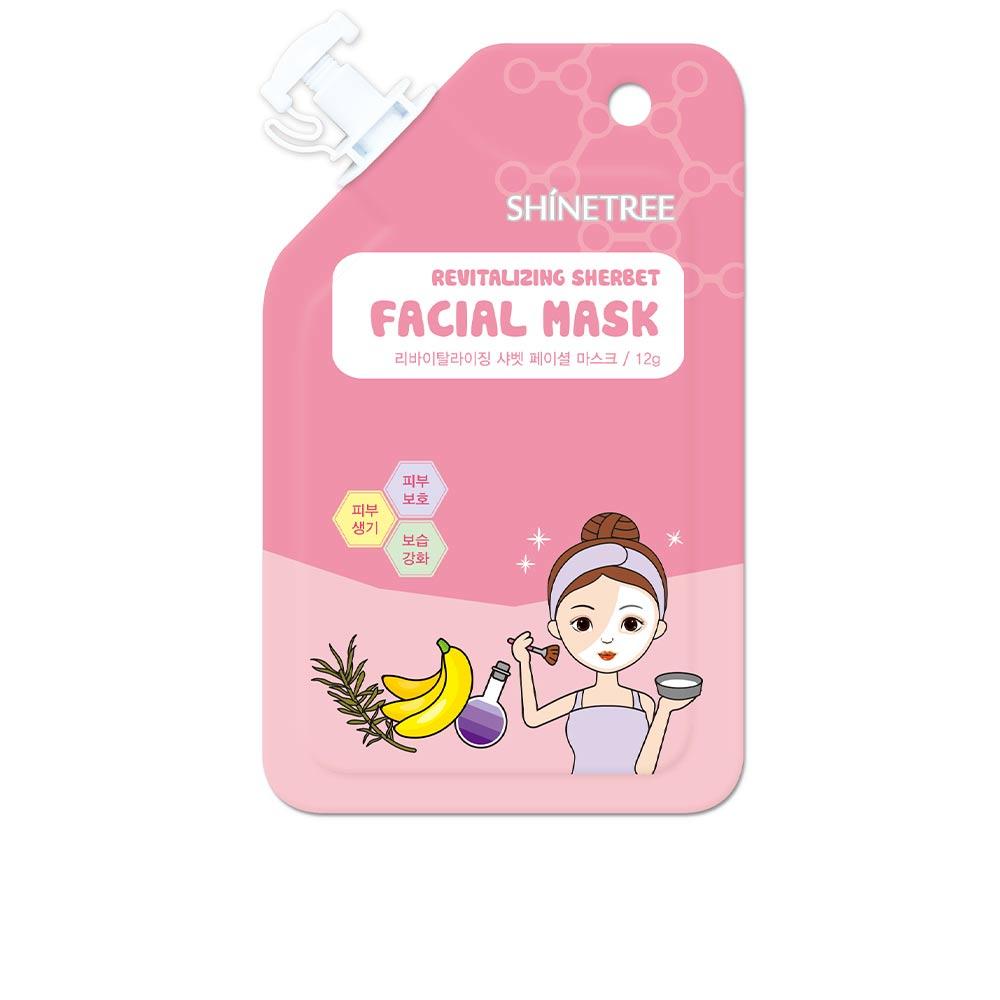 SHERBET revitalizing facial mask