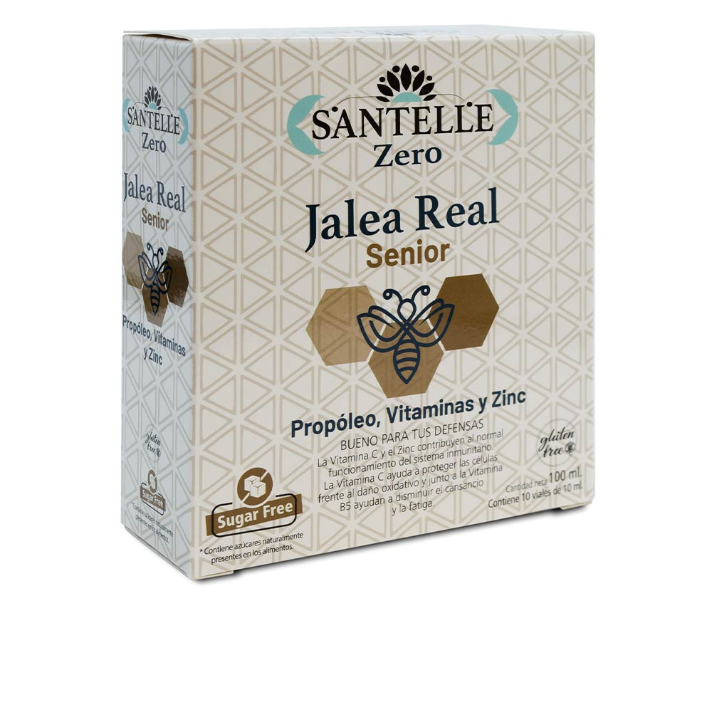ZERO jalea real senior con propóleo, vitaminas y zinc viales