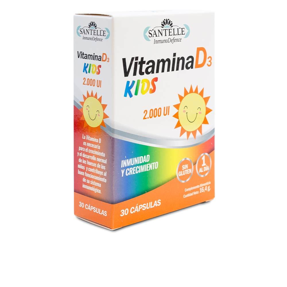 INMUNODEFENCE vitamina D3 kids cápsulas vegetales