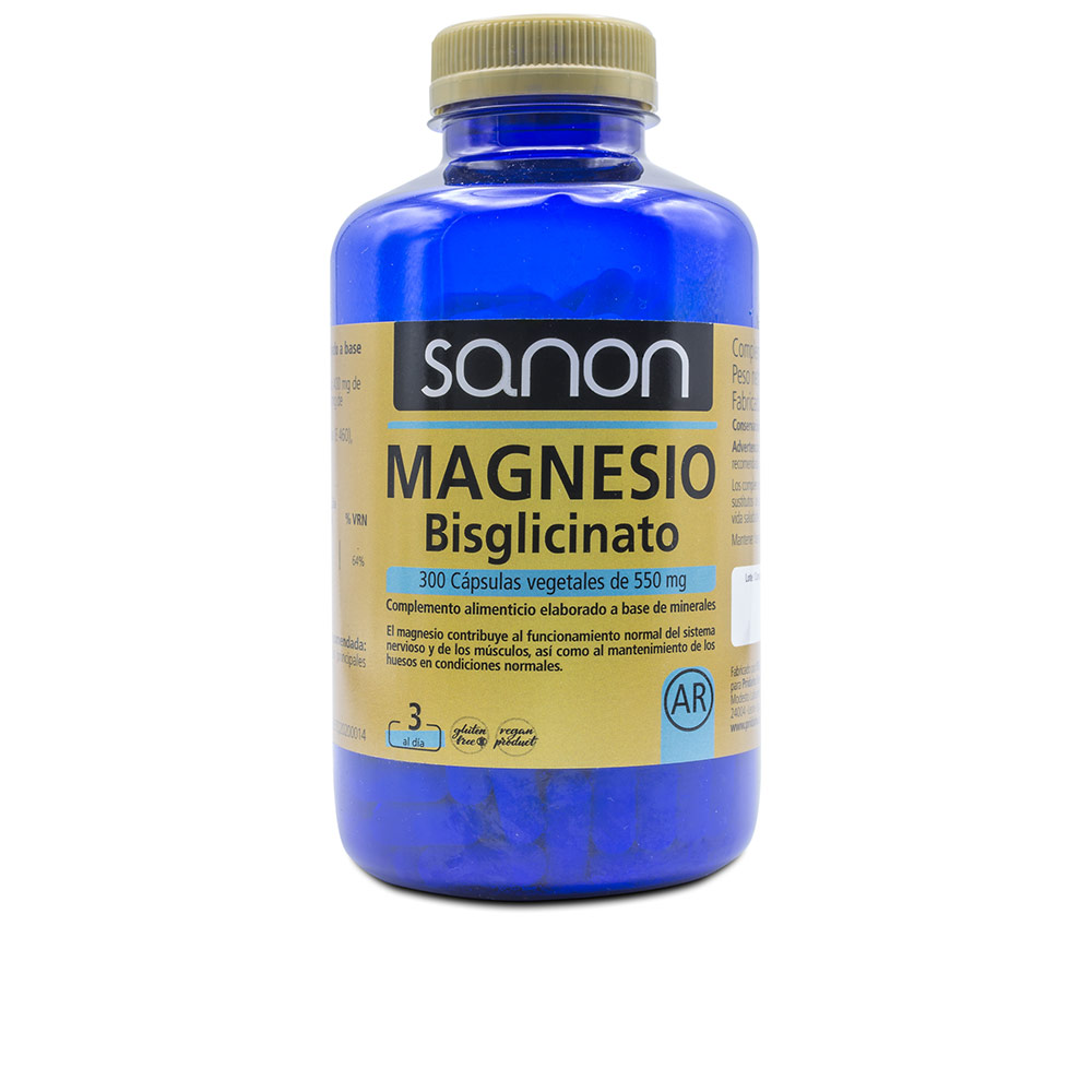 SANON magnesio bisglicinato cápsulas vegetales