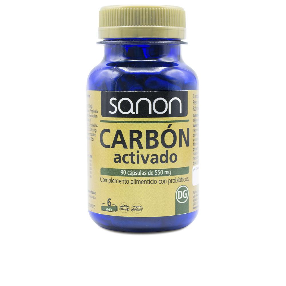SANON carbón activado cápsulas