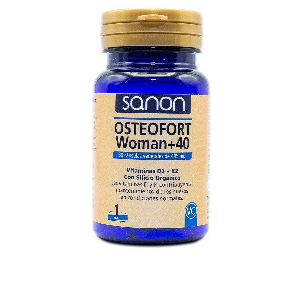 SANON osteofort woman +40 cápsulas vegetales