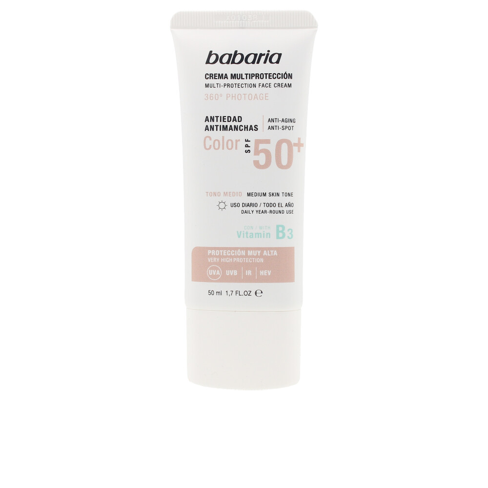 SOLAR MULTIPROTECCION crema antimanchas color SPF50+