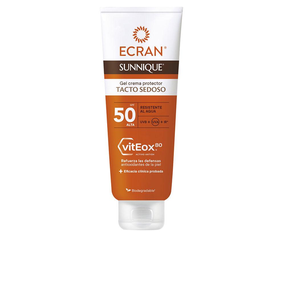 ECRAN SUNNIQUE gel crema tacto seda SPF50