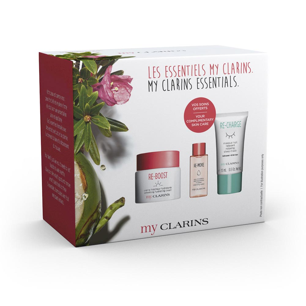 MY CLARINS THE ESSENTIALS LOTE