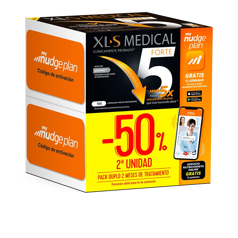 XLS MEDICAL FORTE 5x NUDGE SET