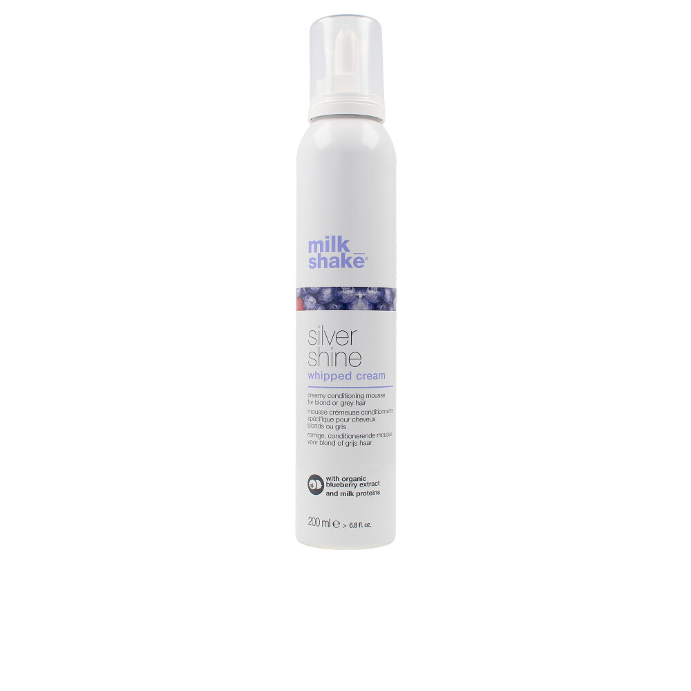 SILVER SHINE conditioning whipped cream