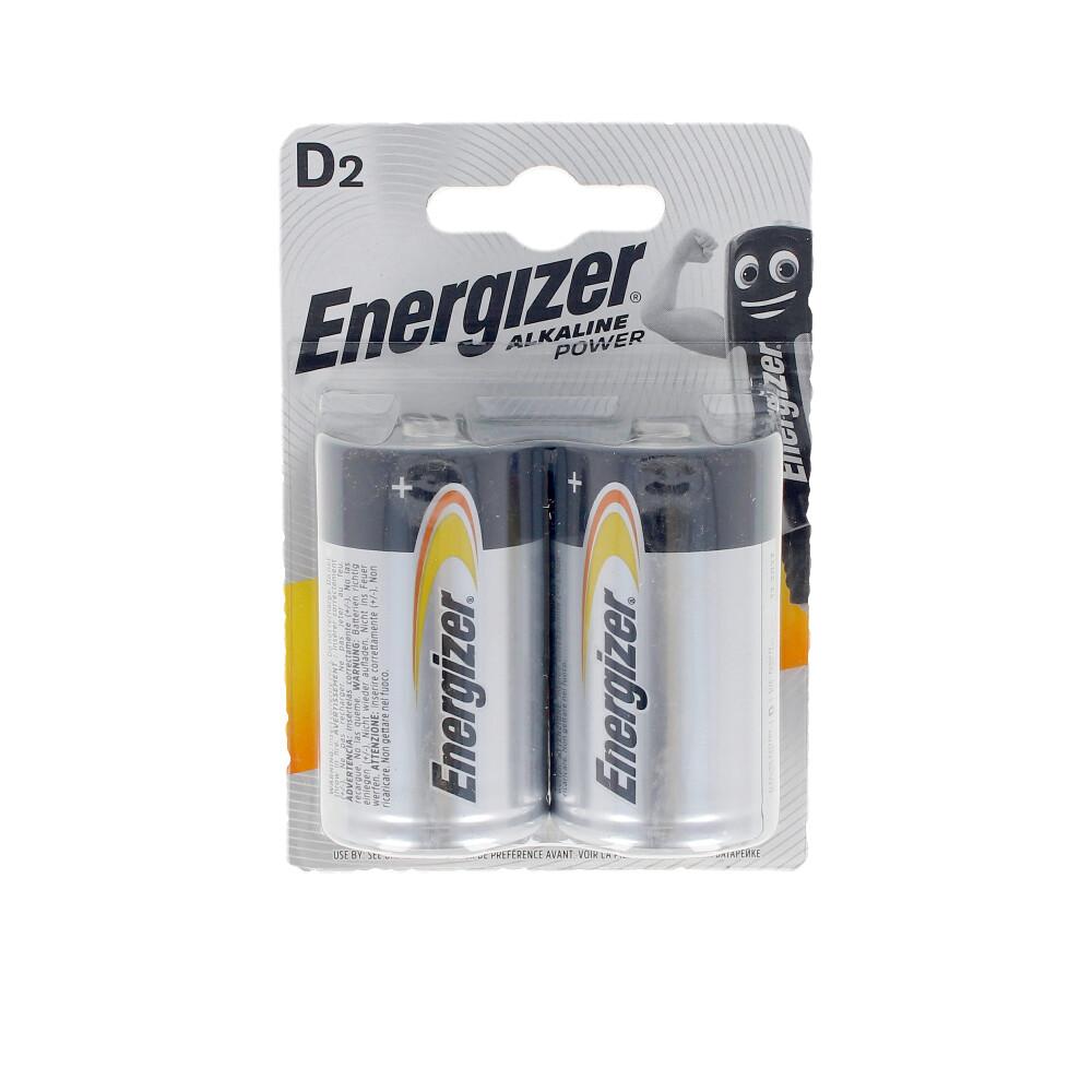 ENERGIZER POWER LR20 D pilas pack x 2 uds