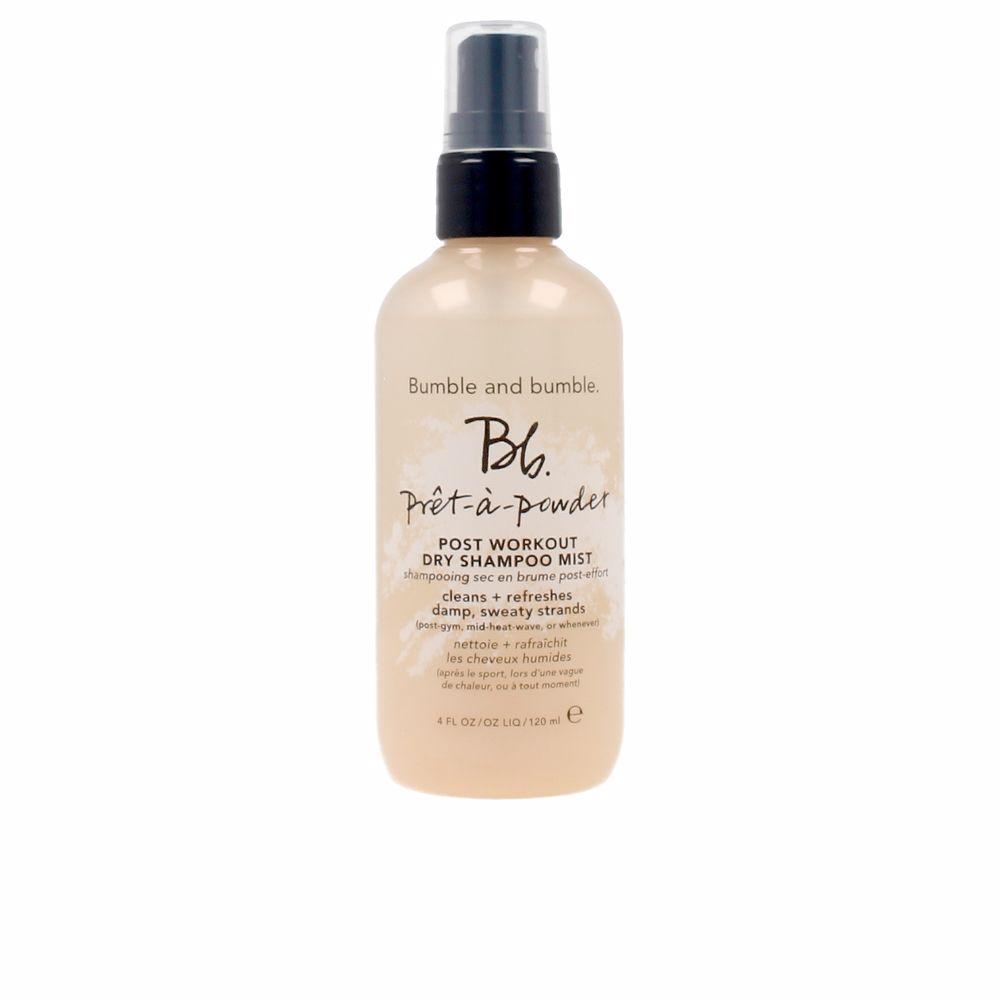 PRÊT A POWDER dry shampoo post workout