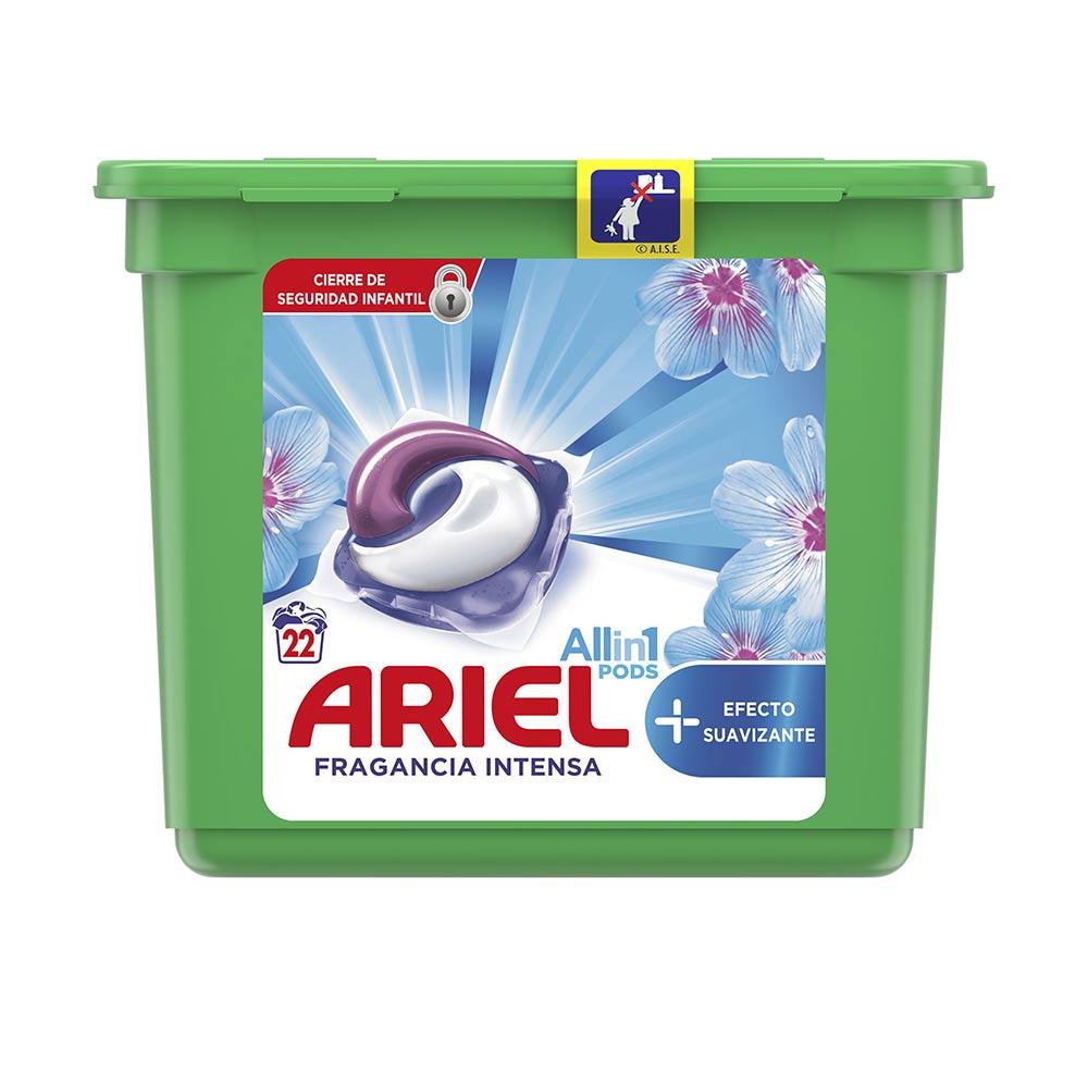 ARIEL PODS SUAVIZANTE 3en1 detergente