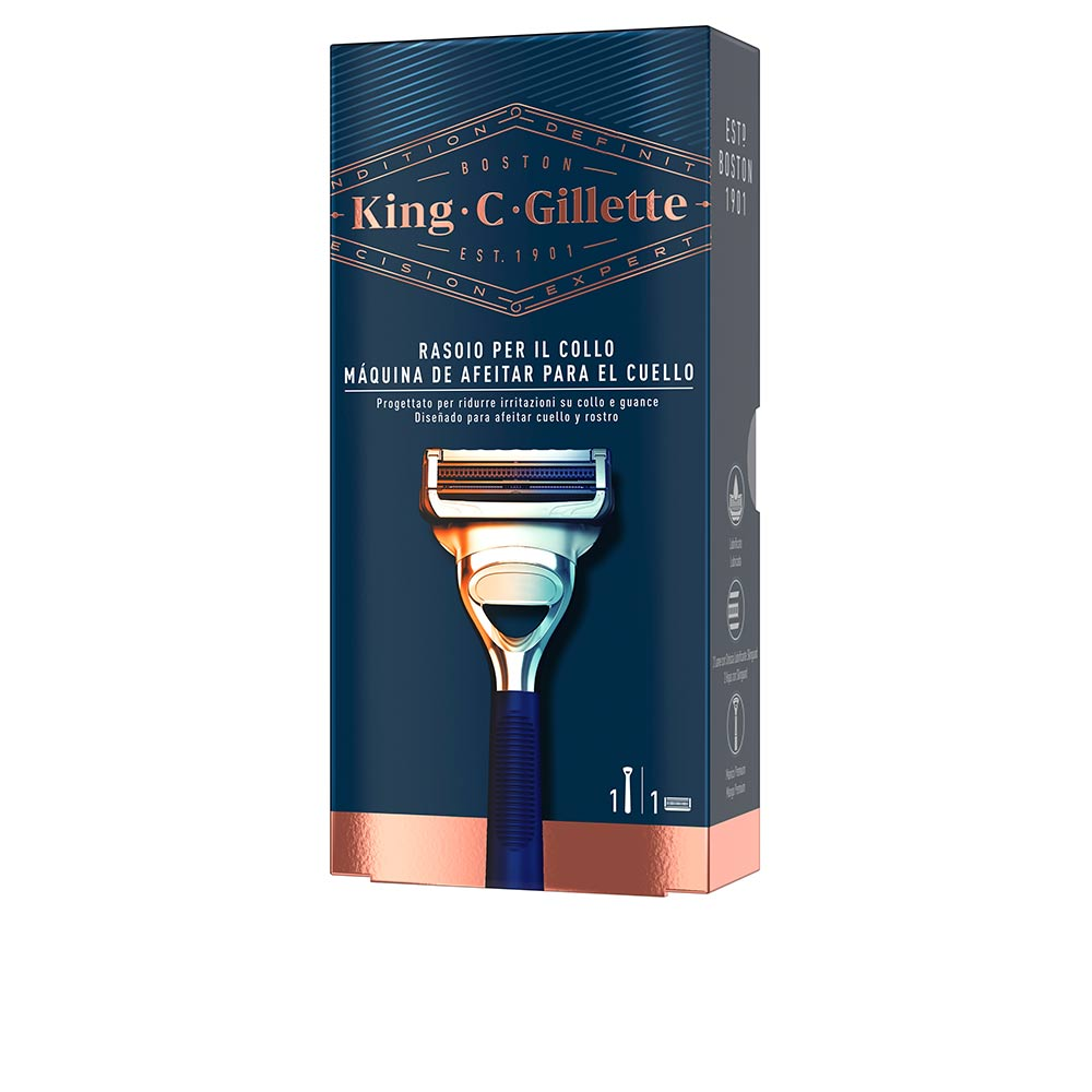 GILLETTE KING neck razor