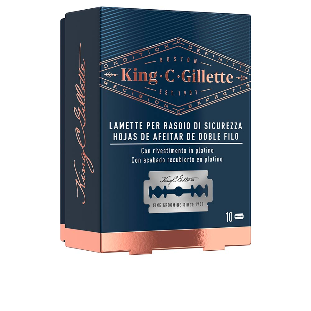 GILLETTE KING double edge replacement blades