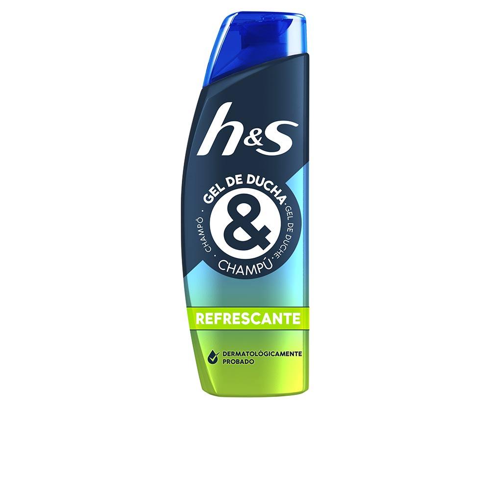 H&S GEL DUCHA & CHAMPÚ refrescante