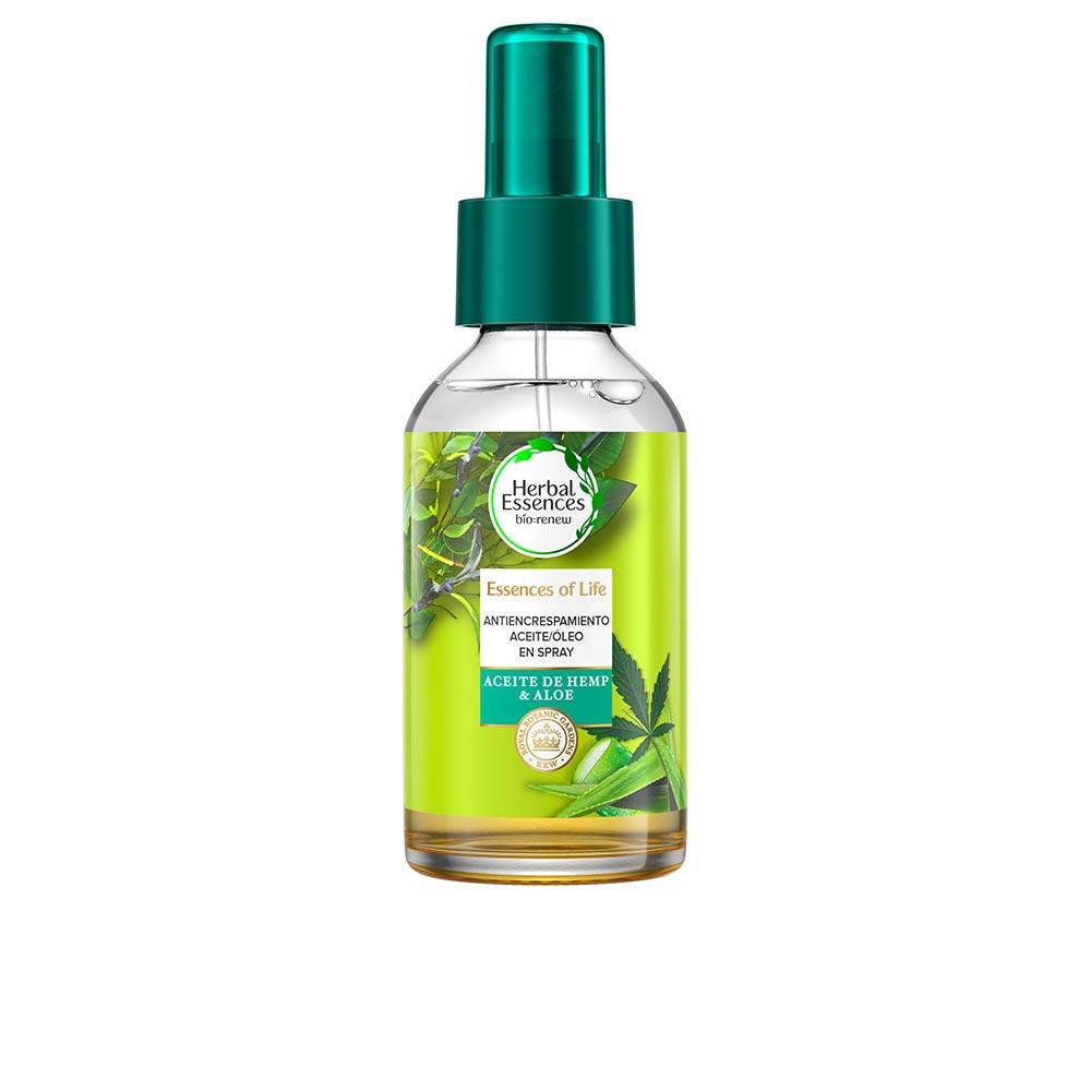 BOTANICALS ALOE & HEMP aceite anti-frizz capilar