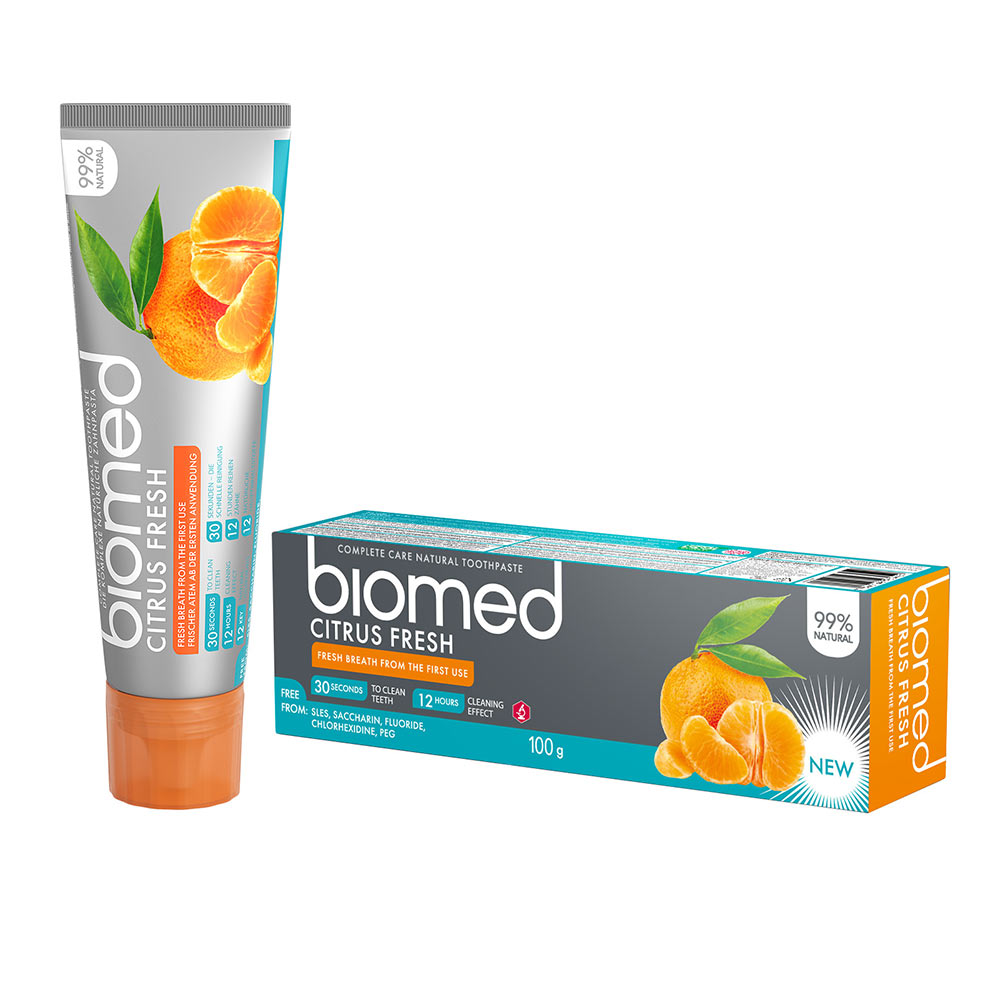 BIOMED CITRUSFRESH dentífrico