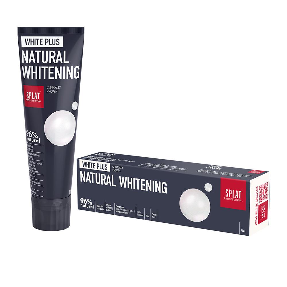 SPLAT WHITE PLUS dentífrico