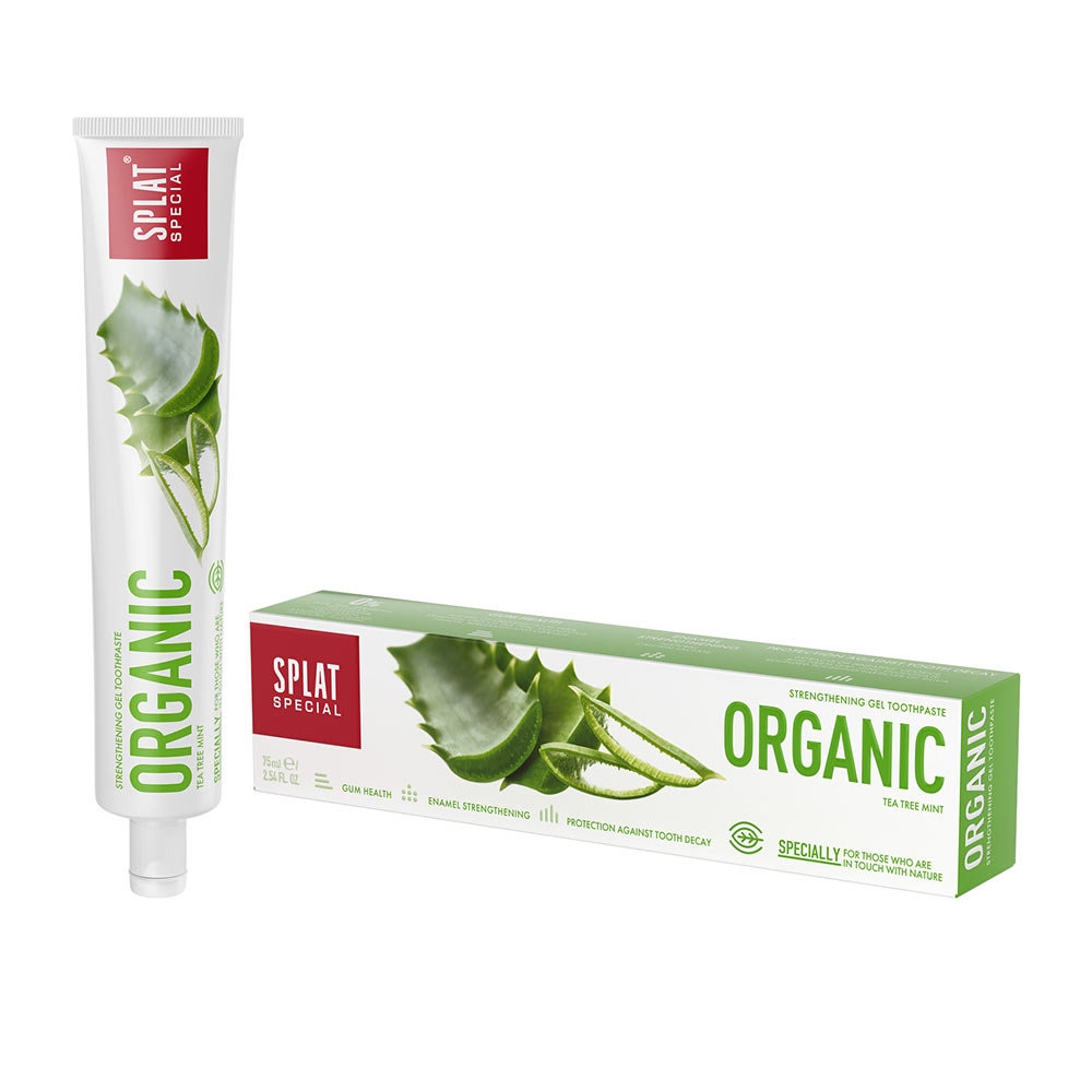 SPLAT ORGANIC dentífrico