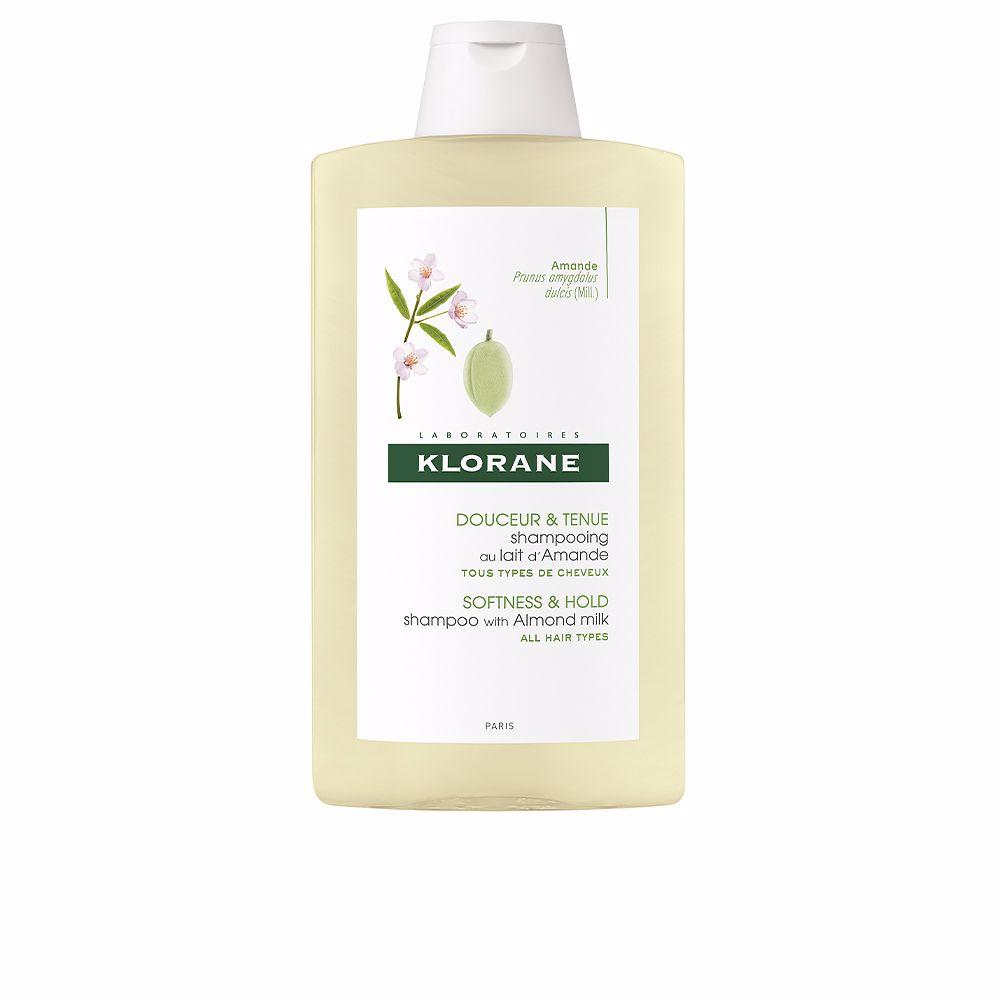 SOFTNESS&HOLD shampoo with almond milk