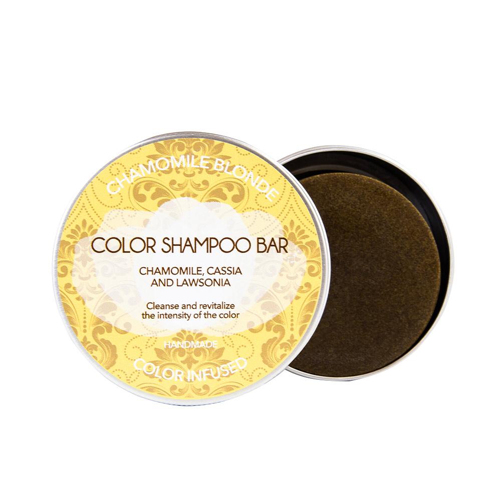 BIO SOLID chamomile blonde shampoo bar