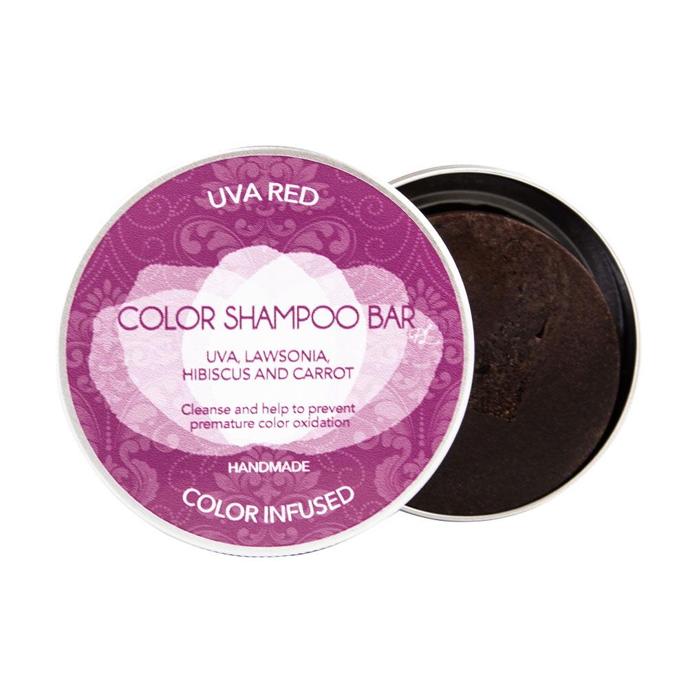 BIO SOLID uva red shampoo bar
