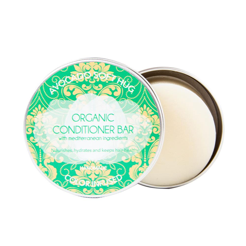 BIO SOLID avocado hair conditioner bar