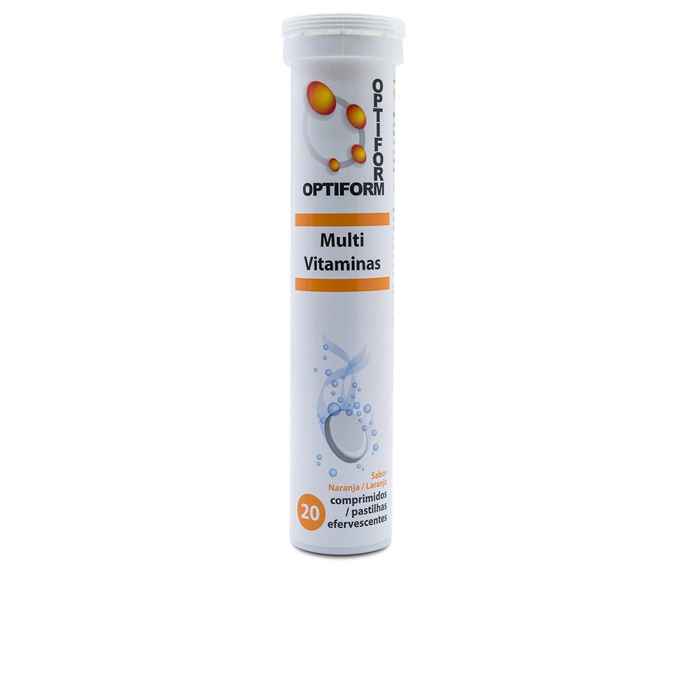 OPTIFORM Multi vitaminas efervescentes #naranja