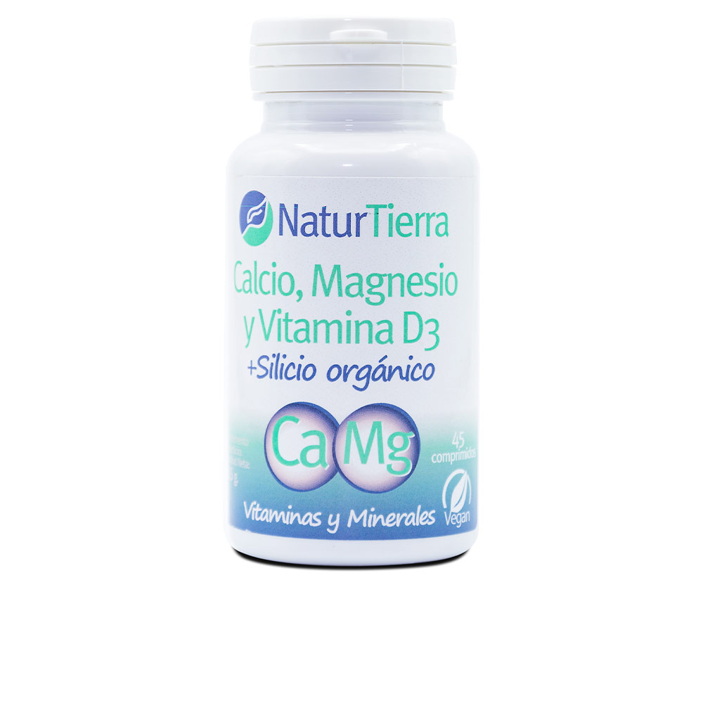 CALCIO + Magnesio + Vitamina D3 + Silicio orgánico