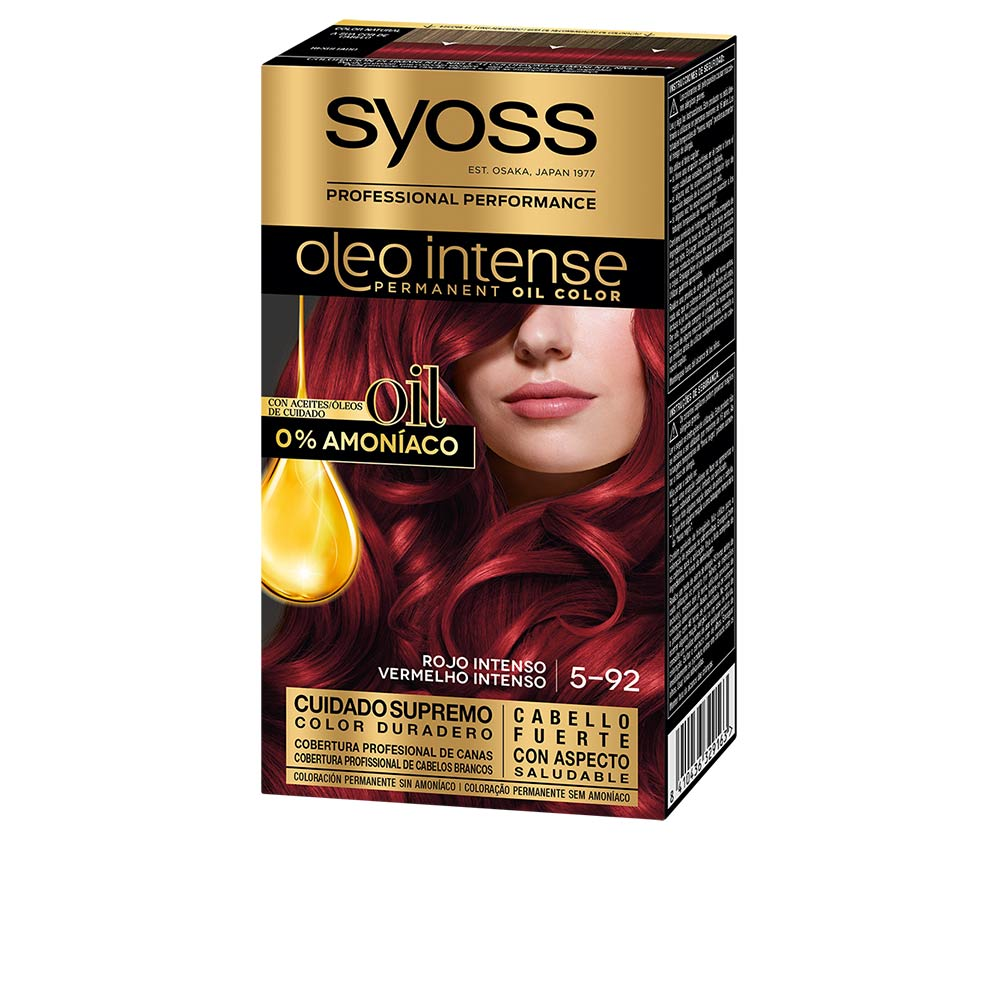 OLIO INTENSE tinte sin amoniaco #8.60-rubio miel