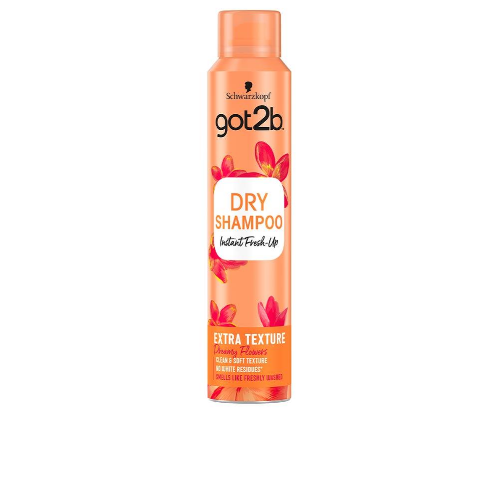 GOT2B DRY SHAMPOO extra clean & soft texture