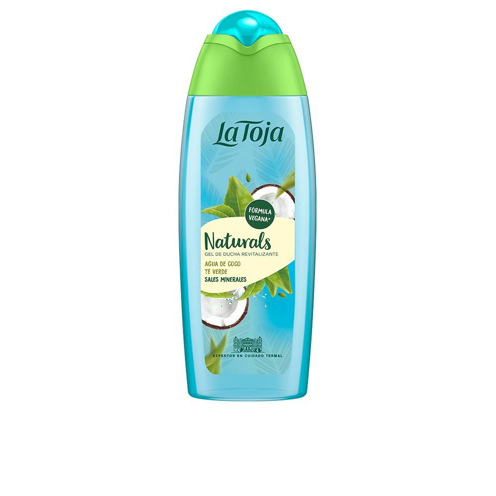 NATURALS agua coco y te verde gel ducha