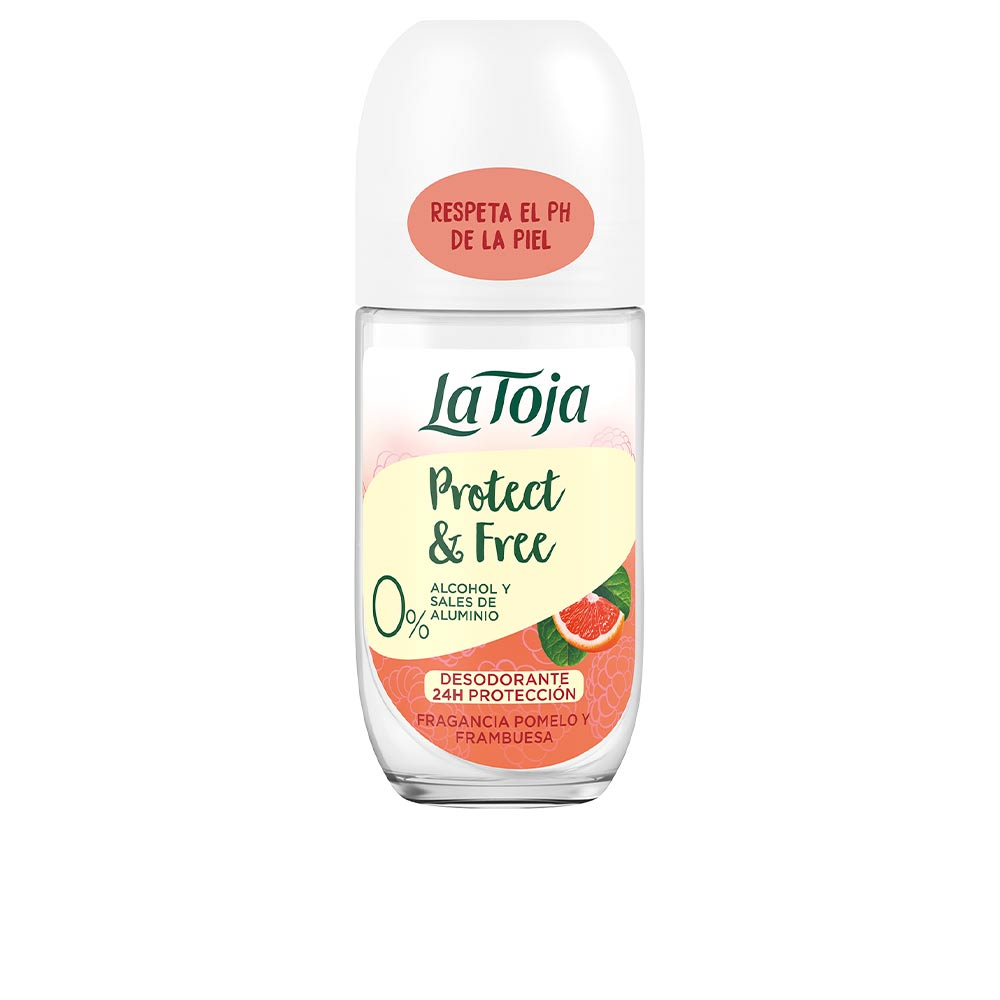 NATURALS pomelo y frambuesa deo roll-on