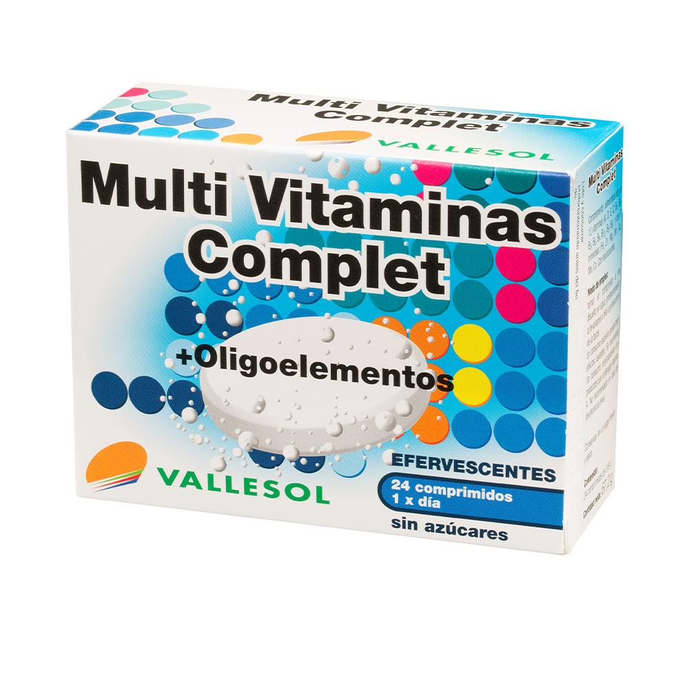 MULTIVITAMINAS COMPLET + oligoelementos efervescentes