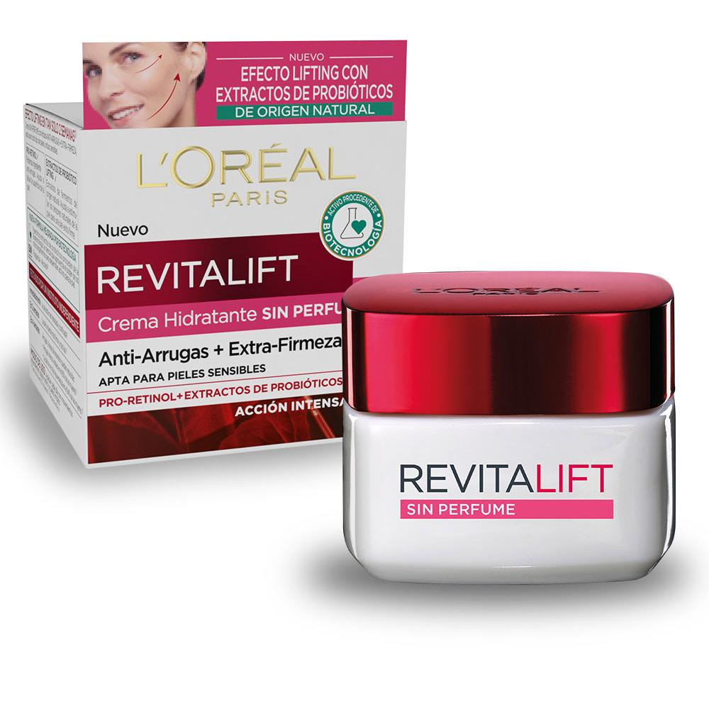 REVITALIFT SIN PERFUME piel sensible antiarrugas SPF15